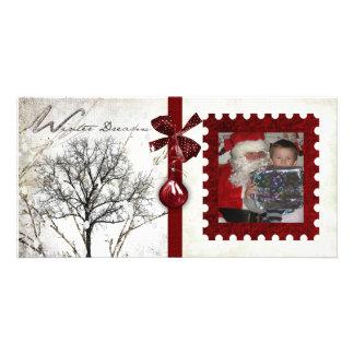 Navidad Photocard Tarjeta Personal