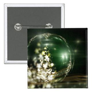 Navidad Pin Cuadrada 5 Cm