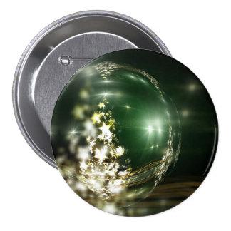 Navidad Pin Redondo 7 Cm