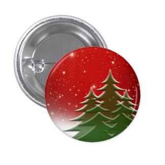 Navidad Pin Redondo De 1 Pulgada
