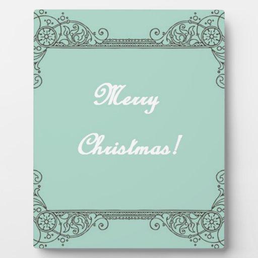 Navidad Placas Con Fotos