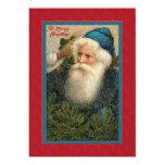 """Navidad plano del padre de la tarjeta de la invitación 5"""" x 7"""""""