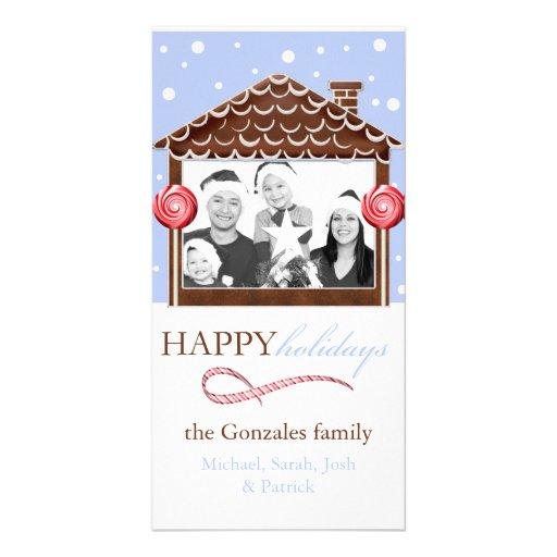 Navidad Plantilla Para Tarjeta De Foto