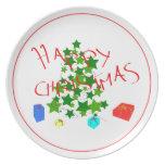 navidad plato