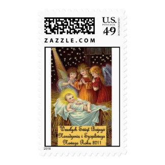 Navidad polaco de Wesolych Swiat Bozego Narodzenia Envio