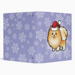 "Navidad Pomeranian Carpeta 1"""