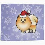 "Navidad Pomeranian Carpeta 2"""