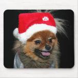 Navidad Pomeranian Mousepad