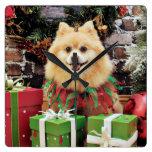 Navidad - Pomeranian - Sammy Relojes