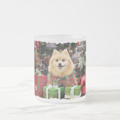 Navidad - Pomeranian - Sammy Tazas De Café