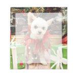 Navidad - Pomeranian X - margarita Libretas Para Notas