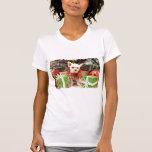 Navidad - Pomeranian X - margarita Camiseta