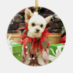 Navidad - Pomeranian X - margarita Ornatos