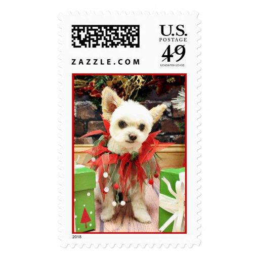 Navidad - Pomeranian X - margarita Sellos