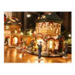 Navidad/postal de las decoraciones de Yule