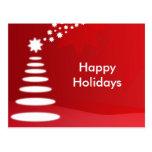 Navidad Postal-Feliz de los días de fiesta