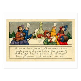 Navidad Postcard (1920) Tarjeta Postal