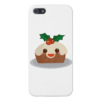 """Navidad Pudding iPhone 5 Fundas"