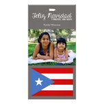 Navidad puertorriqueño Feliz Navidad Tarjetas Fotograficas Personalizadas