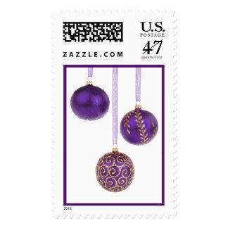 Navidad púrpura Amethyst de la lavanda del Sello