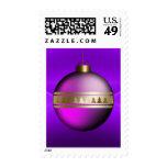 Navidad púrpura del navidad de los sellos