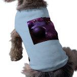 Navidad púrpura ropa de mascota