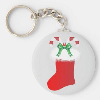 Navidad que almacena destino de la paz del bastón  llavero redondo tipo pin