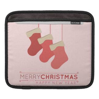 Navidad que almacena el ejemplo funda para iPads
