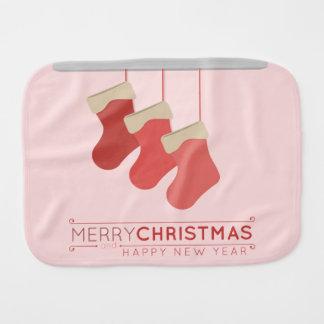 Navidad que almacena el ejemplo paños de bebé