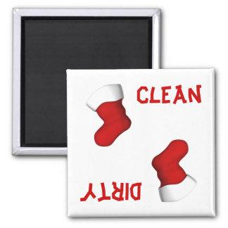 Navidad que almacena el imán del lavaplatos