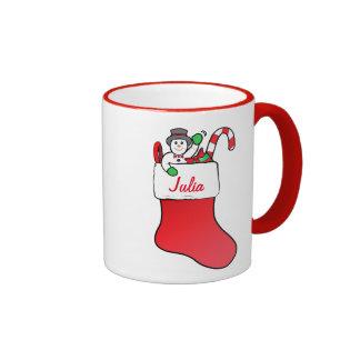 Navidad que almacena el personalizable conocido tazas de café
