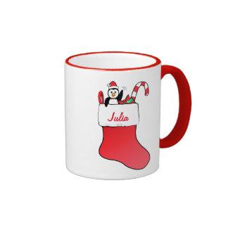 Navidad que almacena el personalizable conocido taza