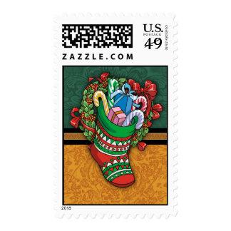Navidad que almacena sellos del día de fiesta