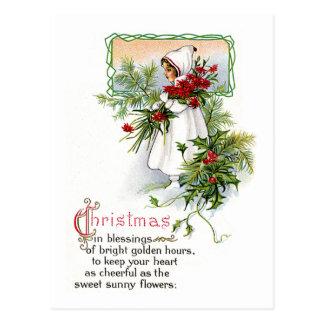 Navidad que bendice postal