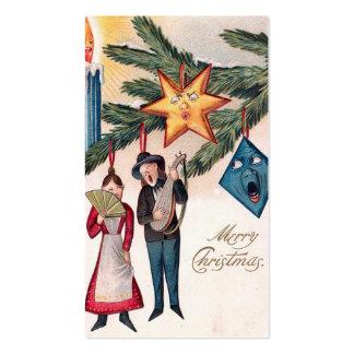 """""""Navidad que canta """" Tarjetas De Visita"""
