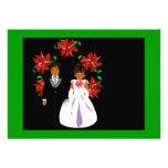 Navidad que casa pares con rosa del verde de la gu