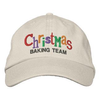 Navidad que cuece el gorra del bordado del equipo gorras bordadas