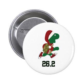 Navidad que funciona con la tortuga 26,2 pin redondo 5 cm