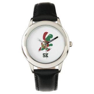 Navidad que funciona con la tortuga 5K Relojes De Mano
