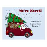 Navidad que mueve las postales de la invitación