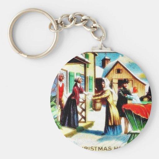 Navidad que saluda como conseguir algo de h llavero redondo tipo pin