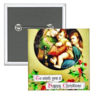 Navidad que saluda con la madre que cuida a sus ni pins
