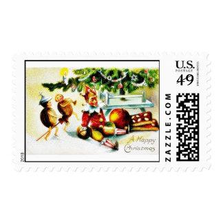 Navidad que saluda con los jockers que hacen algún sello