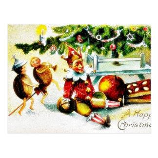 Navidad que saluda con los jockers que hacen algún postales