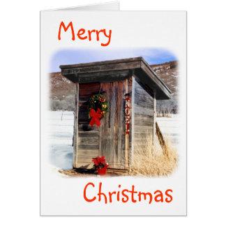 Navidad que saluda la Tarjeta-Dependencia