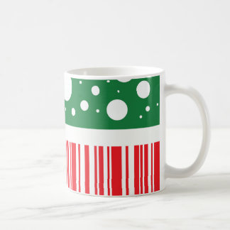 Navidad raro taza de café