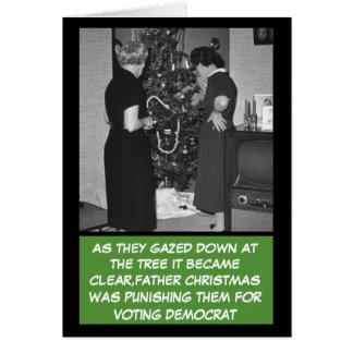 Navidad republicano divertido felicitaciones