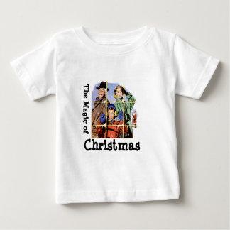 Navidad retro de los años 50 mágico t shirts