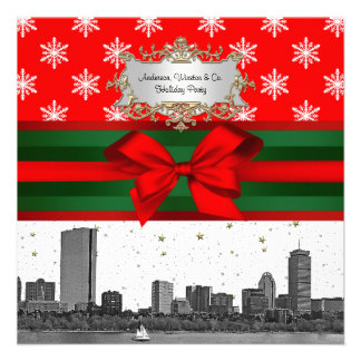 Navidad rojo del copo de nieve del horizonte de Bo Comunicados