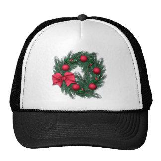 Navidad rojo gorras